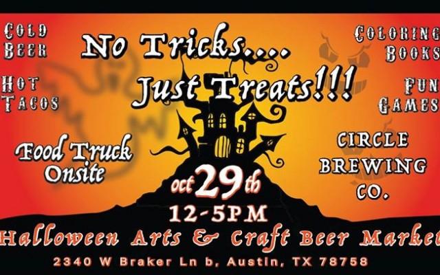 Halloween Arts & Craft Beer Market