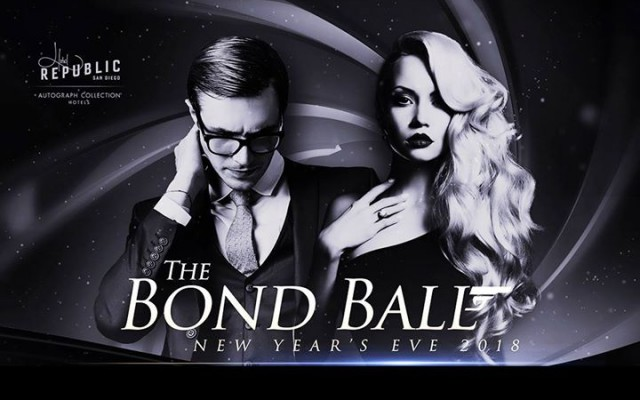 The Bond Ball NYE 2018