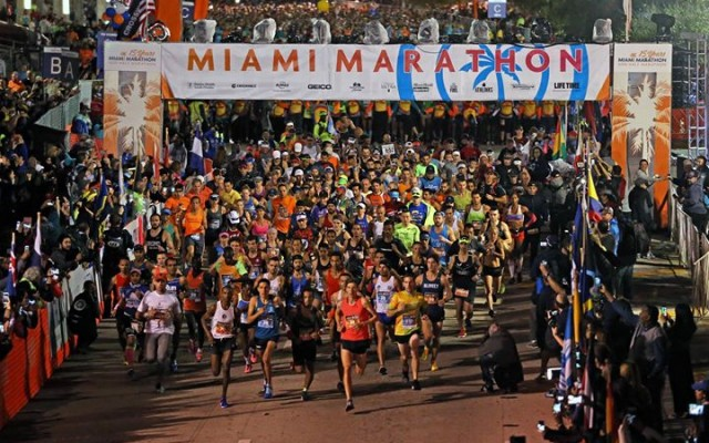 2018 Miami Marathon and Half Marathon