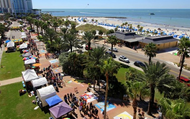 6th Annual Clearwater Beach Chalk Art Festival