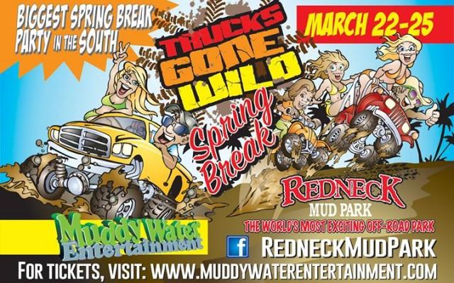Trucks Gone Wild Spring Break at Redneck Mud Park