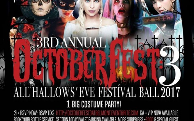 OctoberFest 3: All Hallows' Eve Festival Ball 2017