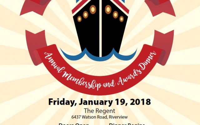 Riverview Chamber to Host Annual Awards and Membership Dinner January 19th