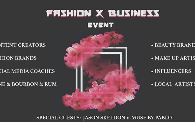 Fashion X Business Event
