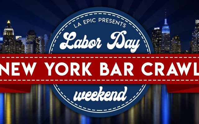Labor Day Weekend NYC Bar Crawl