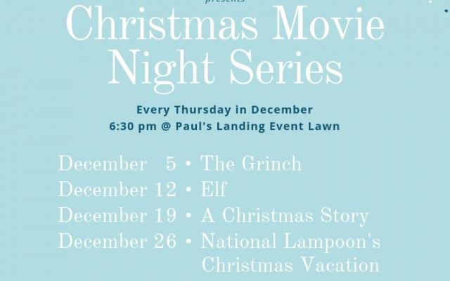 Christmas Movie Night Series