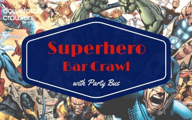 Tampa's Superhero Bar Crawl with Party Bus
