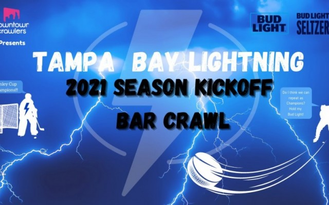 Tampa Bay Lightning 2021 Season Kickoff Bar Crawl