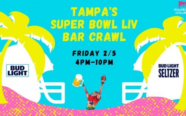 Tampa's Super Bowl LIV Bar Crawl #1