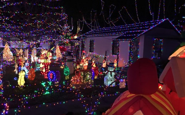 Christmas Lights in Daytona Beach