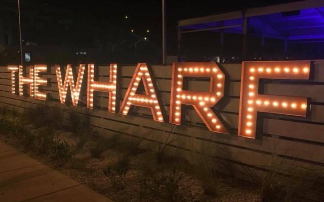 It's a Restaurant, It's a Nightclub; It's The Wharf