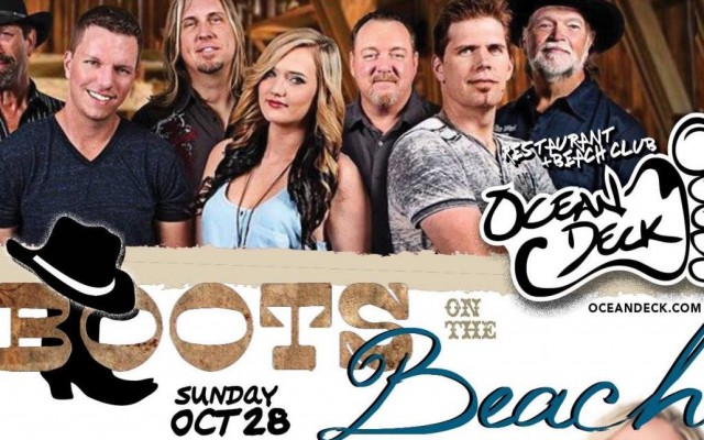 Boots on the Beach - Oct. 28th