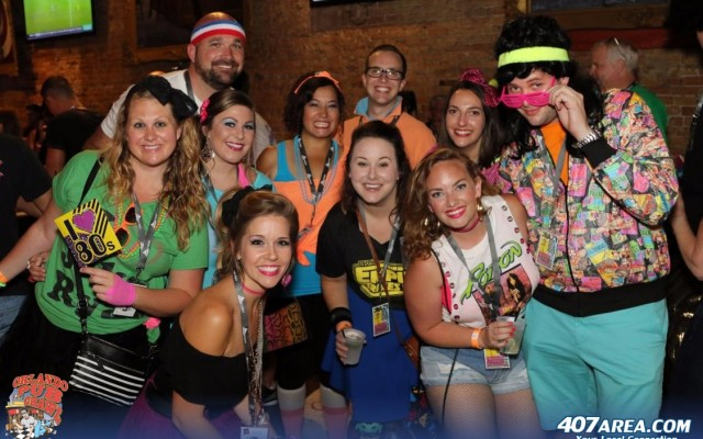 The 13th Annual Crazy 80's Pub Crawl