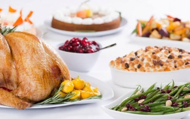 Thanksgiving Buffet at Rosen Plaza