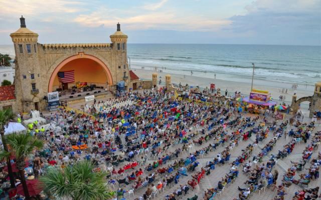 See a Concert at Daytona Beach Bandshell