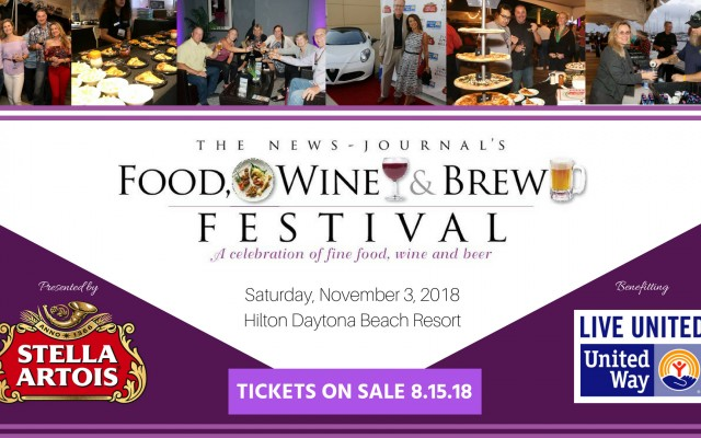 8th Annual Food, Wine and Brew Festival