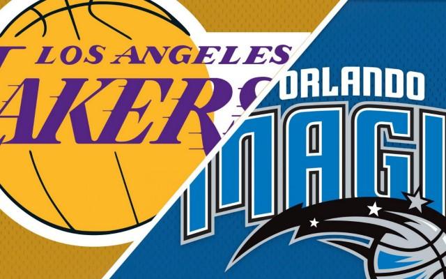 Orlando Magic vs. Los Angeles Lakers