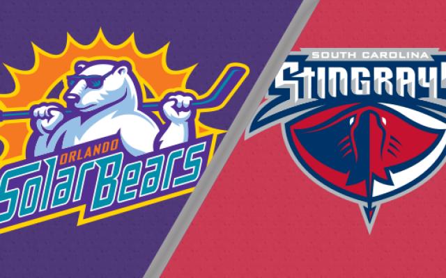 Orlando Solar Bears vs. South Carolina Stingrays   Nov. 21