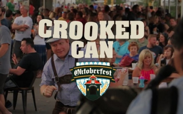 4th Annual Crooked Can Oktoberfest - 10/19