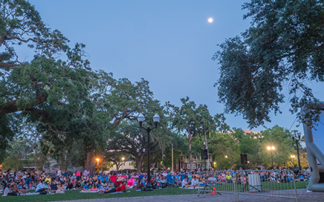 Movieola at Lake Eola Park featuring Zootopia