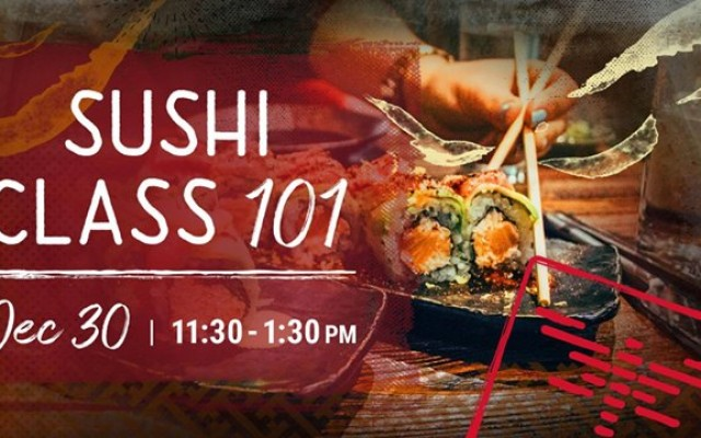 Holiday Sushi Class 101