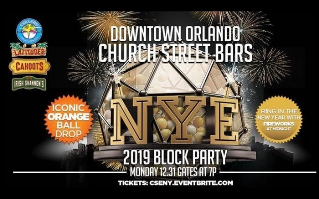 Church St. Bars NYE 2019 Block Party