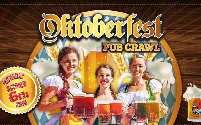 The Oktoberfest Pub Crawl 2018 - 10/6