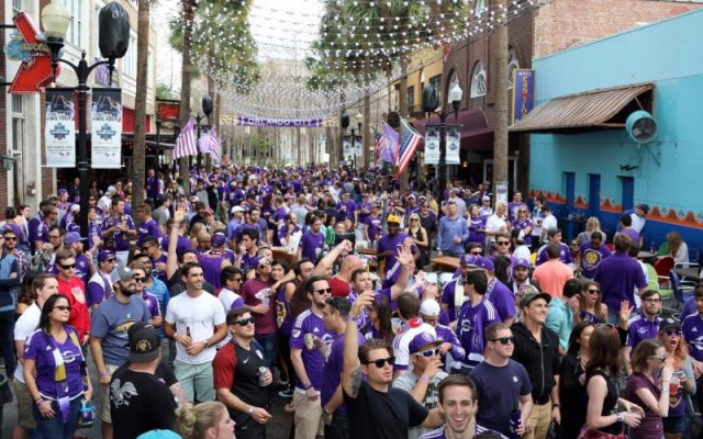 Orlando City Soccer Pre & Post Match Party on Wall Street - Oct. 17th