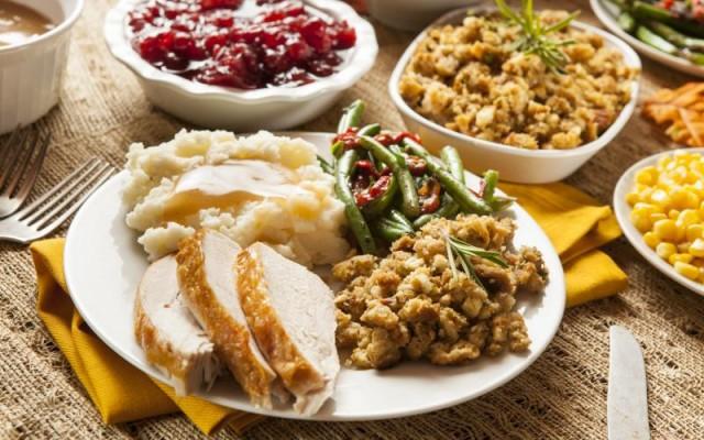 Thanksgiving Feast At The Alfond Inn