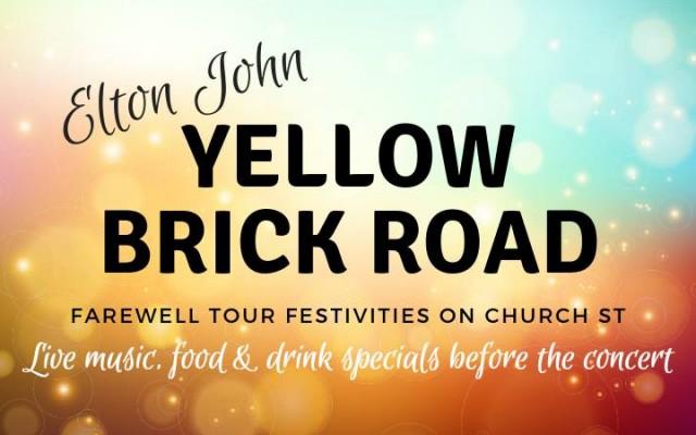 Elton John Concert Pre-Party on Church Street