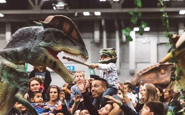 Jurassic Quest at Ocean Center