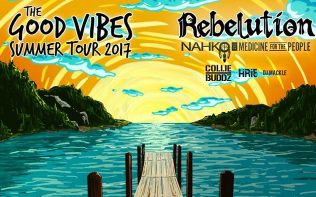 Rebelution live in St. Augustine, FL - Good Vibes Summer Tour