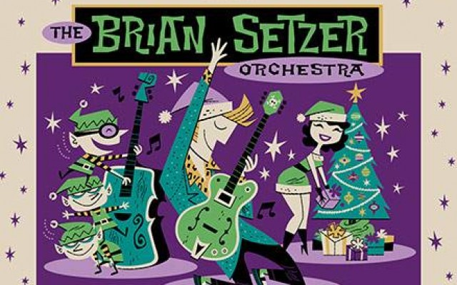 SiriusXM presents The Brian Setzer Orchestra Christmas Rocks! To