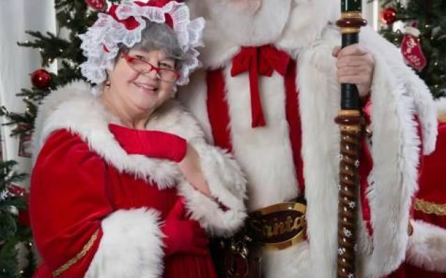 Visit Santa and Mrs. Claus!