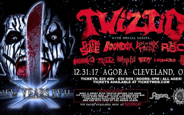 Twiztid's New Years Evil 10 at The Agora