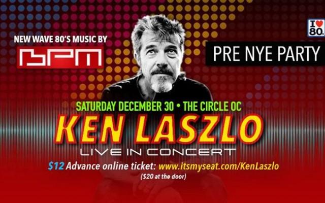 Pre NYE New Wave Party w/ Ken Laszlo