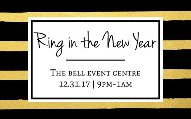 Ring in The New Year with The Bell Event Centre