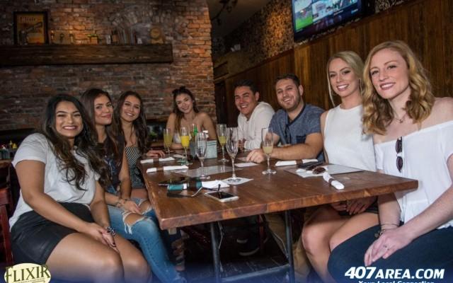Free Shots With Sunday Brunch At Elixir Orlando