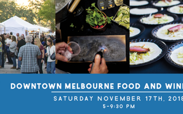 3rd Annual Downtown Melbourne Food and Wine Festival