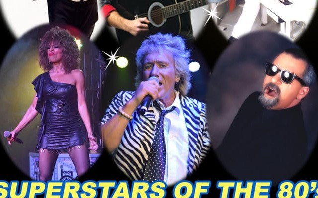 Micheal Jackson, Rod Stewart and Tina Turner 80's Show