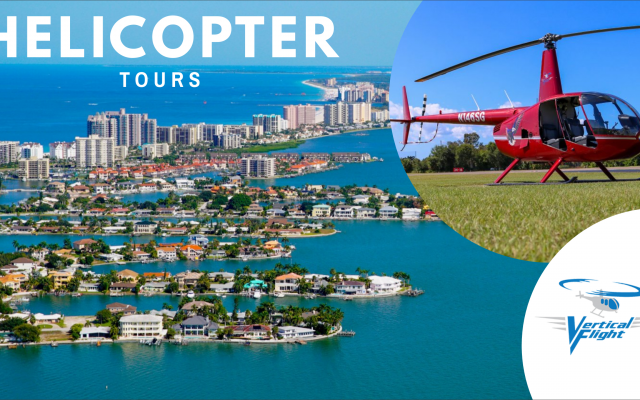 See Wildlife, Waterside Properties, Clearwater Beach & More On A Vertical Flight Helicopter Tour