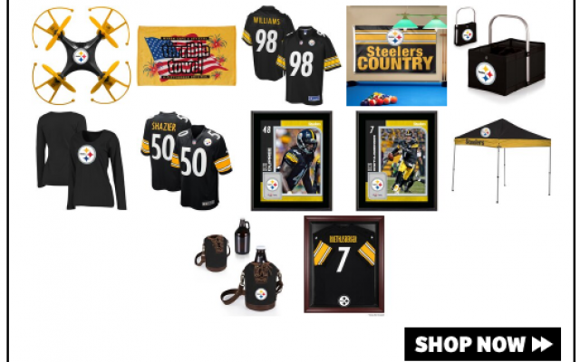Shop Steelers Gear!