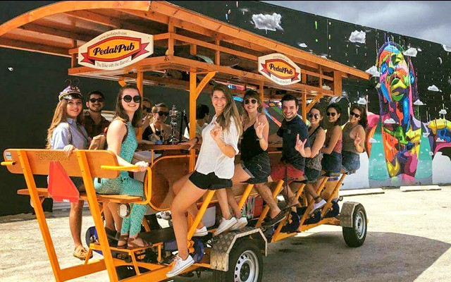 Ride, Drink, and Be Merry on St. Pete's Awesome PedalPub!