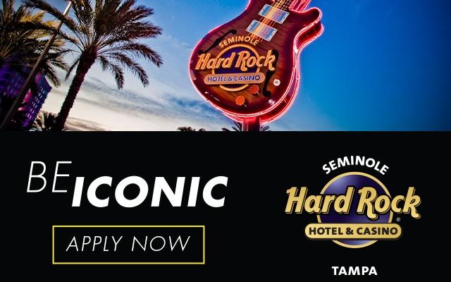 Seminole Hard Rock Hotel & Casino Tampa Now Hiring!