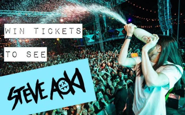 WIN Tickets to Steve Aoki's SOLD OUT Show in Tampa!