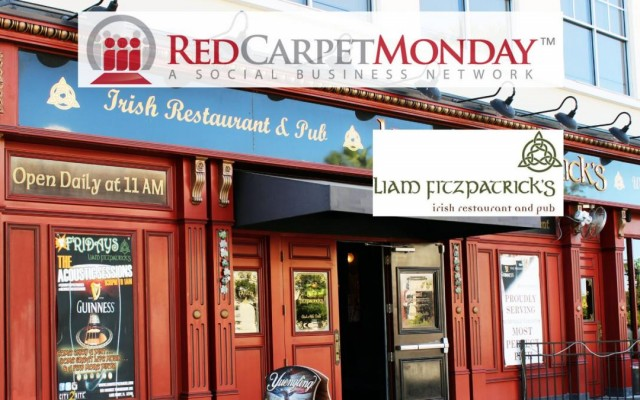 RedCarpetMonday Orlando Networking Event at Liam Fitzpatrick's