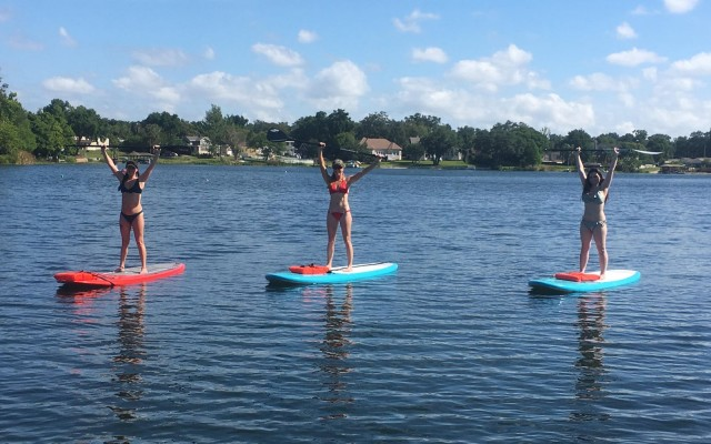 Friday Morning Paddle at The Waterfront Orlando