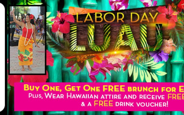 Labor Day Luau with Victory Casino Cruises