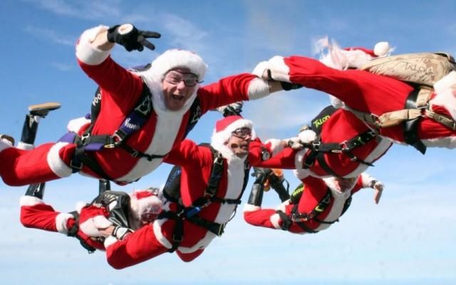 Skydiving Santas of Cocoa Beach 2019