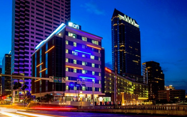 Aloft Hotel's W XYZ Bar is a Local Hotspot
